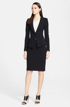 Armani Collezioni Jacket, Top & Skirt  available at #Nordstrom