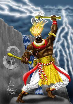 Maferefun Shango que vence a mis enemigos y que por mi busca muertos en el mundo de los vivos!!!