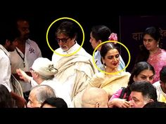 Amitabh Bachchan & Rekha at an same event but NOT talked with each other.