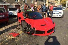 "[Video] ""Great"" driving skills to blame for latest LaFerrari crash in Hungary | Image 1 | FantasyCars News"