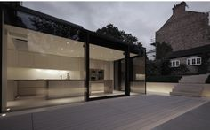 Rear House Extension, Garden Design / LBMV Architects