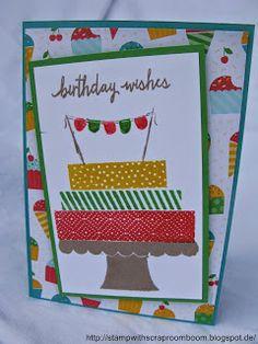 Stampin mit Scraproomboom - stampin' Up! Build a Birthday