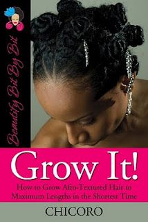 Beautify Bit By Bit - Chicoro: Grow It!_Great book on taking care of and growing black natural hair.
