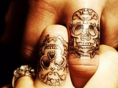 40 Best Sugar Skull Tattoo Designs , Menings For Men and Women