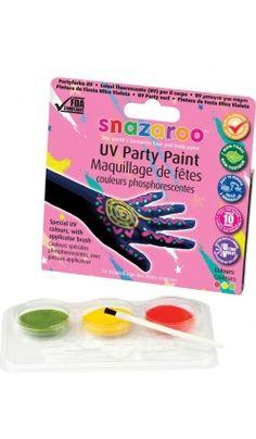 Kit De Peinture Sur Peau Phosphorescent