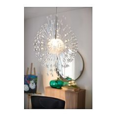 IKEA - STOCKHOLM, Chandelier,  ,  , , Gives decorative patterns on the ceiling and on the wall.