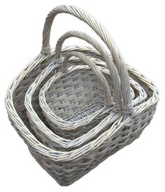 Red Hamper - Set of 3 Provence Country Shopping Baskets, £50.00 (http://www.redhamper.co.uk/set-of-3-provence-country-shopping-baskets/)