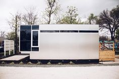 Kasita: a modern and minimal prefab home, built in Austin, with just 352 sq ft of space!