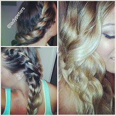 LadyPeters | Beauty, Obsessions & Life Happenings: Quick Easy Hairstyle: No Heat Curls! *HD*