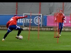 Dribblings • Shooting training • Saves || FC Bayern Munich - Ribery Guardiola - YouTube