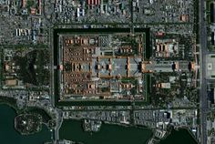 Satellite Forbidden City Beijing