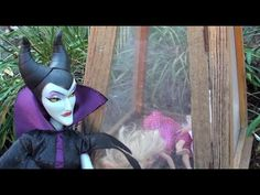 Maleficent and Ursula steal Anna and Elsa's children p2 Barbie Chelsea F...