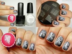 Konad Stamping Nail Art Image Plate - M74 for Rs.170 from Urbantouch.com