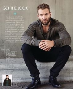 Jai Courtney for Modern Luxury by John Russo