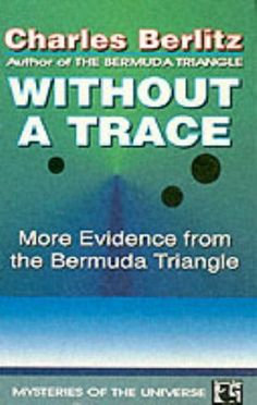 """""""Without a Trace"""" av Charles Berlitz"""