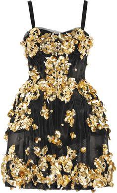 Embellished Mesh Dress by Dolce & Gabbana
