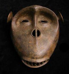 african monkey mask - Buscar con Google