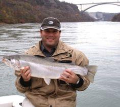 Fisherman on the Niagara River