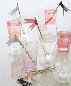 REVEL: Ribbon Drink Flags