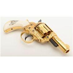 "Colt Lightning Model 1877 DA Storekeeper's revolver with 2-1/2"" barrel, .38 cal., #23237; finely cus"