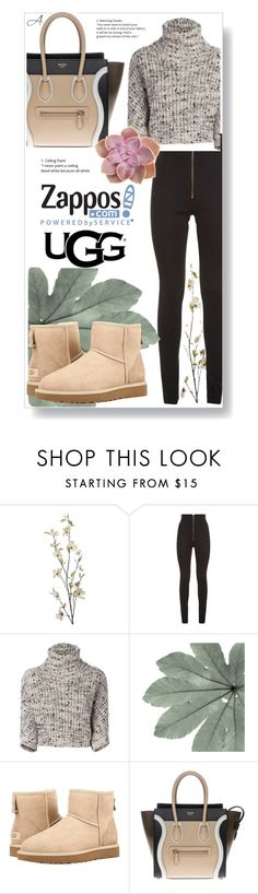 """""""The Icon Perfected: UGG Classic II Contest Entry"""" by andragabriela on Polyvore featuring Pier 1 Imports, Balmain, Brunello Cucinelli, UGG Australia, CÉLINE, ugg and contestentry"""