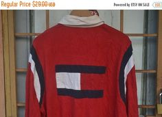 ON SALE Vintage 90s Tommy Jeans by Tommy by VtgMalayaGarments
