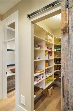 Pantry. Kitchen Pantry. Kitchen Pantry Ideas. Kitchen Pantry Design. #Kitchen #Pantry #KitchenPantry  Barn door reclaimed for art room   fivEandfaRm  