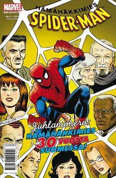 Spider-Man - Hämähäkkimies: nro 3/2010. Juhlanumero: Hämähäkkimies 30 vuotta Suomessa. #egmont #sarjakuva #sarjis