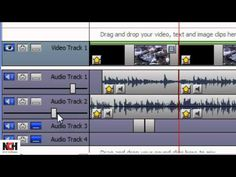 VideoPad Video Editing Software | Adding Audio to Your Movie -- This tutorial shows you how to add audio to your movie using VideoPad video editing software. You'll learn how to import audio, how to record narration, and how to access the NCH Software sound effect library.