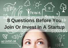 Every startup founder loves to prompt for questions from investors and potential key team members about their vision, and the huge opportunity that can be had with their disruptive technology. Yet if you are on the other side of the table, there are some other key questions that you need to ask, which will tell you more about the real success prospects for this business. http://trucrowd.is/1PN73oy