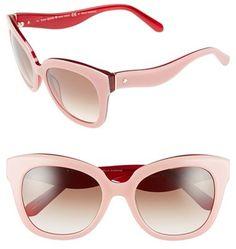 1f9538f067217 Kate Spade New York Kate Spade New York  amberly  54mm Cat Eye Sunglasses  Sol