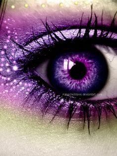 So Beautiful. Love the Purple. Saved by Celtic 🐉 Dragon. The Purple, Purple Stuff, All Things Purple, Shades Of Purple, Purple Art, Pretty Eyes, Cool Eyes, Beautiful Eyes, Color Lila
