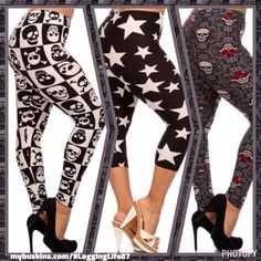 I am in love with these new designs! Check out all the new designs at mybuskins.com/#LeggingLife87
