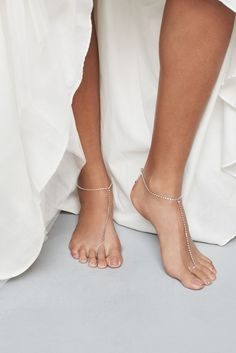 Crystal Bare Foot Jewelry Style JANEY