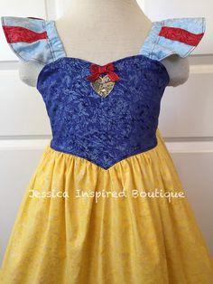 Snow White Sundress Disney Princess Snow White by Theresafeller