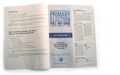 2008 California Election - Mode Design Primary Election, Earn Money, Design, Earning Money