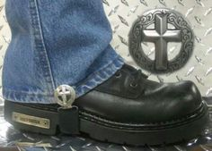 Christian Bikers boot straps (Check out Christian Bikers on Facebook)