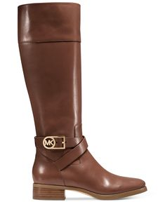 MICHAEL Michael Kors Bryce Tall Wide Calf Boots - Boots - Shoes - Macy's