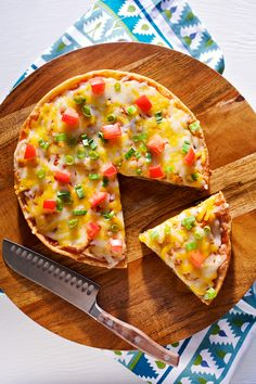Udi's Gluten Free Mexican Pizza | Udi's® Gluten Free Bread, would have to vegan-fy it though
