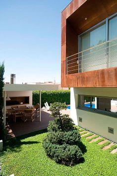 Casa moderna y familiar con piscina - Decoratrix | Decoración, diseño e interiorismo