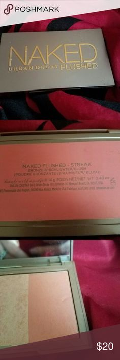 Naked Flushed- Streak Contour trio from urban decay naked series. Urban Decay Makeup Face Powder