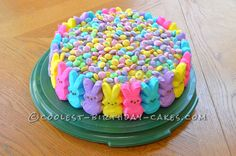 Coolest Bunny Easter Cake... This website is the Pinterest of birthday cake ideas