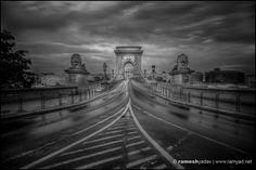 You Shall Not Pass – Budapest, Hungary You Shall Not Pass, Budapest Travel, Budapest Hungary, Railroad Tracks, Lions, Travel Photography, Bridge, Island, Chain