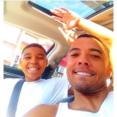 Christian Keyes and his son (the sequel) Christian Keyes, Godly Man, Sunday Funday, Real Man, Black Men, Going Out, Eye Candy, Sons, Daddy