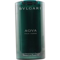BVLGARI AQUA by Bvlgari SHAMPOO AND SHOWER GEL 6.8 OZ for MEN