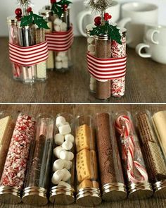 Gifts In A Jar . . . Simple, Inexpensive, and Fun! | Najahs show ...