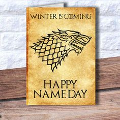 game of thrones birthday card - Google Search