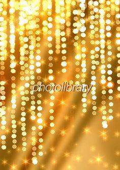 金色の光の背景-写真素材