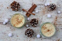Zimtparfait mit weißer Schokolade