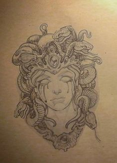 Symbol Tattoos, Head Tattoos, Life Tattoos, Body Art Tattoos, Sleeve Tattoos, Tatoos, Tatto Ink, Mum Tattoo, Medusa Art